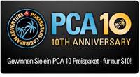 PCA 10th Anniversary Aktion gibt es 100 Trips ins Atlantis auf den Bahamas zu gewinnen.