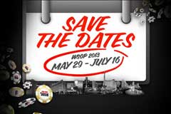 Turniervorschau der World Series of Poker 2013 in Las Vegas